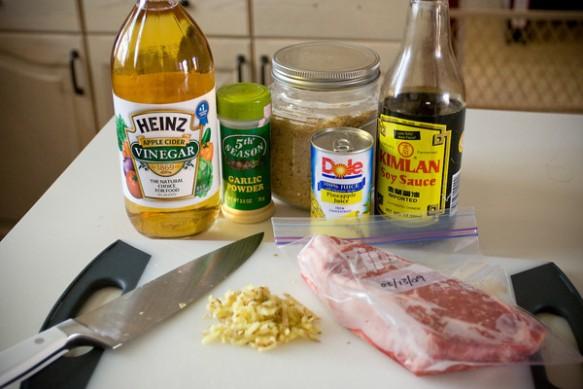 Recreating Houston's Hawaiian Ribeye   Kris the Foodie