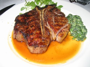 Capital Grille's Porcini Crusted Delmonico