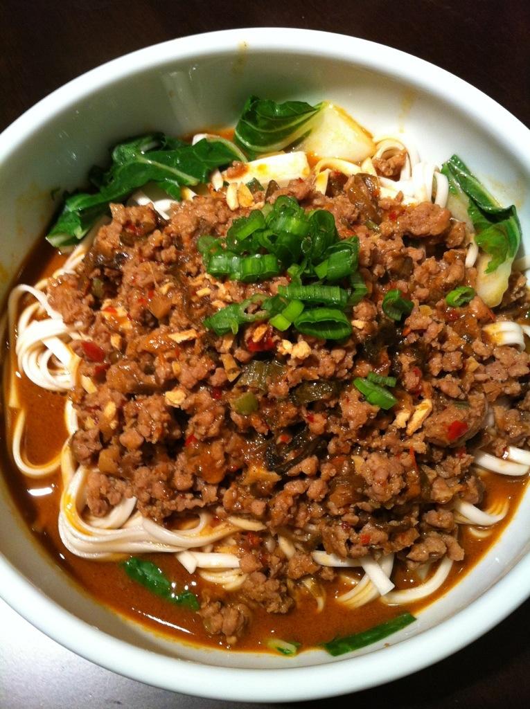 Spicy Dan Dan Noodles   Kris the Foodie